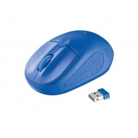 Trust 20786 RF Wireless Optical 1600DPI Ambidextrous Blue mice
