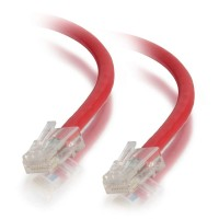 C2G 1m Cat5e Non-Booted Unshielded (UTP) Network Patch Cable - Red