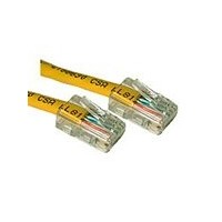 C2G Cat5E Crossover Patch Cable Yellow 0.5m 0.5m Yellow networking cable
