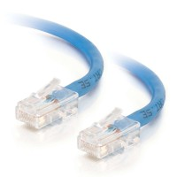 C2G 0.5m Cat5e Non-Booted Unshielded (UTP) Network Patch Cable - Blue