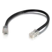 C2G 0.5m Cat5e Non-Booted Unshielded (UTP) Network Patch Cable - Black