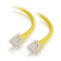 C2G 1m Cat5e Non-Booted Unshielded (UTP) Network Patch Cable - Yellow