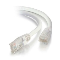 C2G 2m Cat5e Booted Unshielded (UTP) Network Patch Cable - White