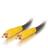 C2G 2m RCA-Type Video Cable 2m RCA RCA Black composite video cable