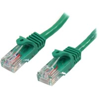 StarTech.com 45PAT50CMGN 0.5m Cat5e U/UTP (UTP) Green networking cable