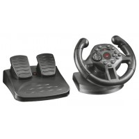 Trust GXT 570 Wheel + Pedals PCPlaystation 3 Black