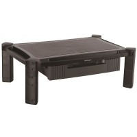 StarTech.com Monitor Riser with Drawer - Height Adjustable - Large