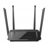 D-Link AC1200 Dual Band Dual-band (2.4 GHz / 5 GHz) Gigabit Ethernet Black wireless router