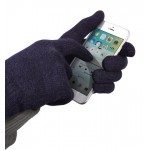Sensus Touchscreen Gloves S/M - blue