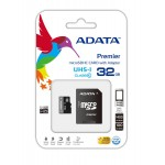 ADATA MICRO SD CLASS 10 UHS-1 W/1 ADAPTER 32GB
