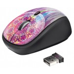 Yvi Wireless Mouse - purple dream catcher