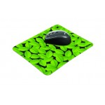 Eco-friendly Mouse Pad - green leaves