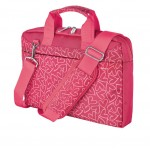 "Bari Carry Bag for 13.3"" laptops - pink hearts"