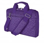 "Bari Carry Bag for 13.3"" laptops - purple hearts"