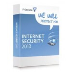 F-Secure Internet Security 1 yr 3 PC Full lic RBOX
