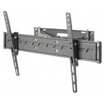 Articulated corner wall support for larg
