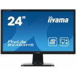 "PROLITE B2483HS-B1 24"" BLACK LED, HDMI"