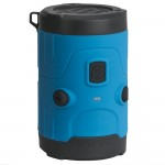 RUGGED WATERPROOF WIRELESS SPEAKER BLUE