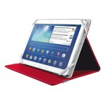 "Verso Universal Folio Stand for 10"" tablets - red"