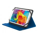 "Primo Folio Case w/Stand for 7-8"" tablets - blue"