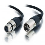 2M PRO-AUDIO XLR MALE TO FEMALE CBL