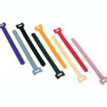 CABLE WRAP BLACK - 50 PACK