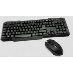 full sized wireless keyboard and mouse combo