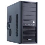 SMART MIDI TOWER BLACK 2 X USB 3.0 - NO PSU