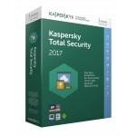 Kaspersky TS 2017 MD 3D 1Yr Retail DVD BOX NO DISC