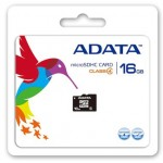 ADATA MICRO SD CLASS 4 16GB W/ADAPTER