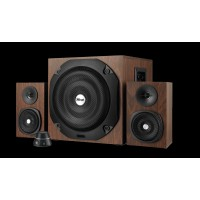 Vigor 2.1 Subwoofer Speaker Set - brown UK