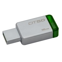 16GB USB 3.0 DataTraveler 50 (Metal/Green)
