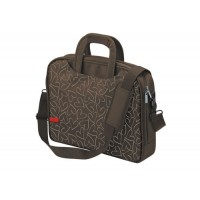 """OSLO 15.6""""NOTEBOOK CARRY BAG BROWN"""
