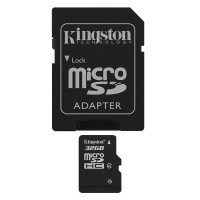 Kingston 32GB Micro SD HC Card Class 4