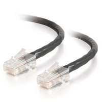 20M ASSEM BLACK CAT5E PVC UTP PATCH