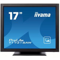 "17"" LCD, SAW TOUCH 1280x1024, 5 MS, DVI"