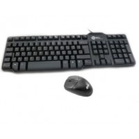 Full blk keyboard w/chunky keys + ergo mouse