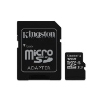 32GB microSDHC Class 10 UHS-I speeds to 80MB read3