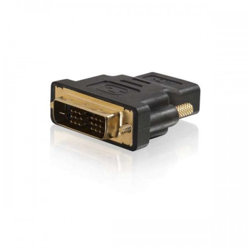 HDMI F TO DVI M ADT BLACK UK