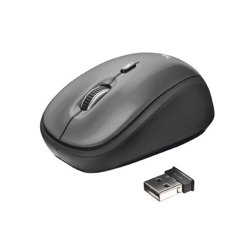 TRUST YVI WIRELESS MOUSE -BLK