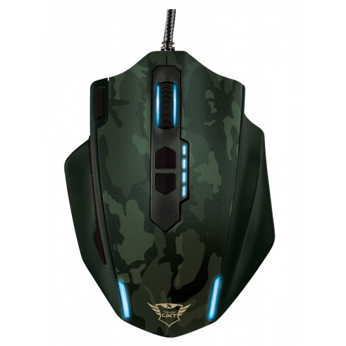 GXT 155C Gaming Mouse - green camouflage